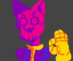 Purple Cat Drawception