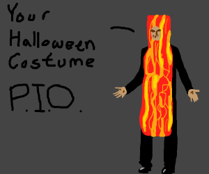 Your Halloween costume (Pass it on)