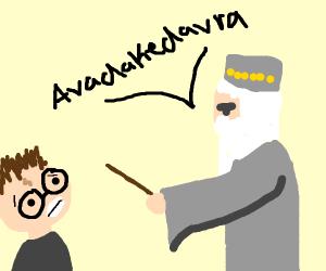 dumbledore is pissed at harry