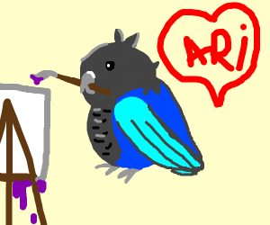 Parrot Artist