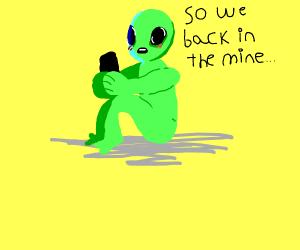 Alien becomes huge fan of Revenge