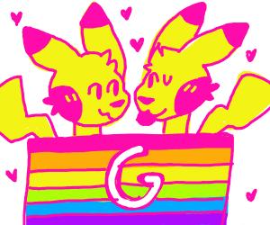 Two Pikachus