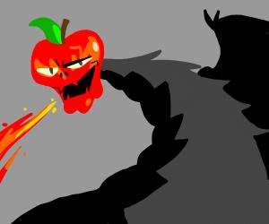 Hansome apple-head dragon.