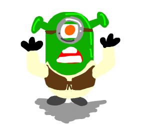 Shrek minion