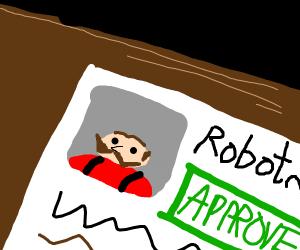 approving Dr Robotnik