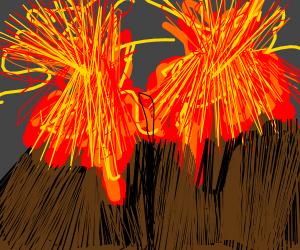 Double Volcano