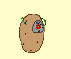 Cyborg potato