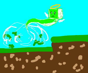 creeper unhappy with his untimely demise