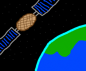 A Waffle-CubeSat goes to space