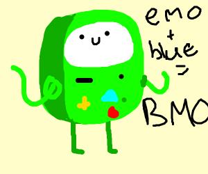 So emo. So blue.
