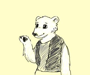 Bipedal Polarbear