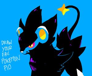 Draw your favorite pokemon