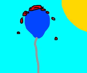 bloody balloon
