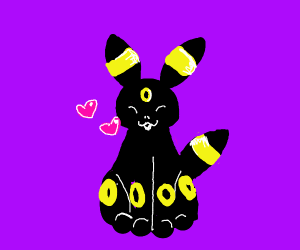 Umbreon loves you!