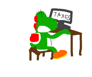 yoshi can use the internet