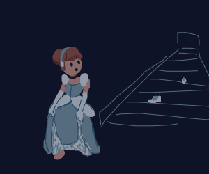 cinderella loses both her slippers