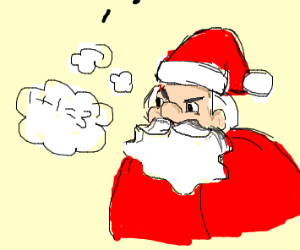 Santa can't do maths
