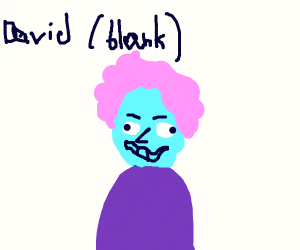 David (blank)