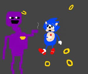Purple Guy kills Sonic