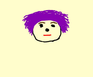 purple haired guy