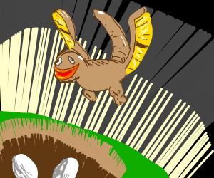Pterodactyl nest