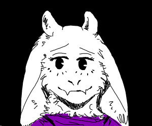 Toriel smiles at you :)