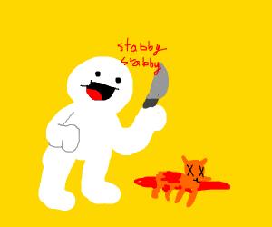 odd1sout likes to kill animals