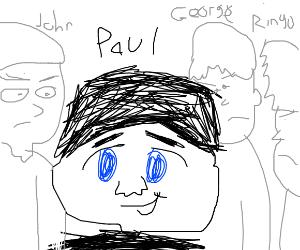 Anime Paul McCartney