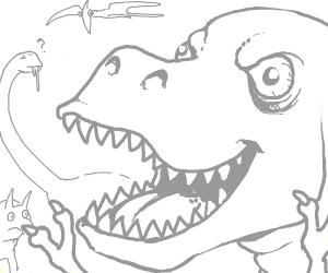 Manic Dinosaur