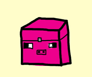 Minecraft Pigs But They're Chests
