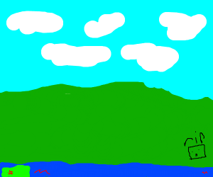 Lovely green landscape :)
