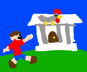 TIME TO GO TO DA CHICKEN MUSEUM!!!!!!!!!!!!!