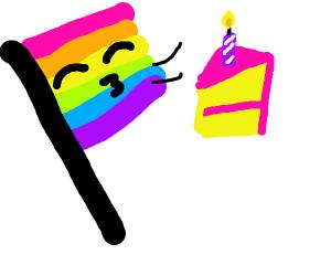 Gay prides birthday (love yourself)