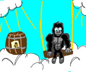 Gorilla in heaven
