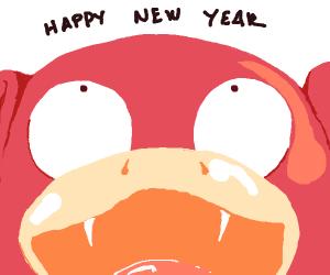 Happy New Years poke'mon