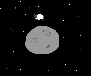 the sheep jumped over the moon