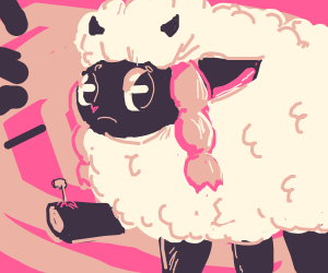 Wooloo got a nail in his leg