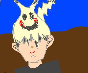 """Humanoid Mimikyu: """"My eyes aren't up here"""""""