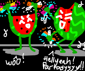 Watermelon rave