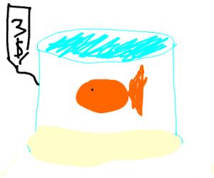 $3 Goldfish
