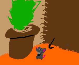 Smug Tiny Monkey