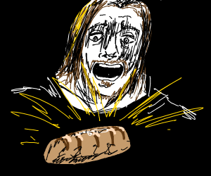 youtuber man finds holy magic bread