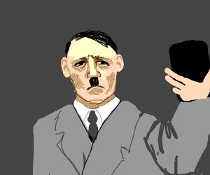Hitler taking a selfie
