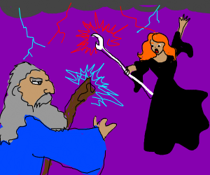 Sorcerer vs Sorceress