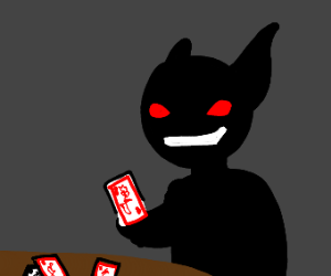 Satan (the best card player)