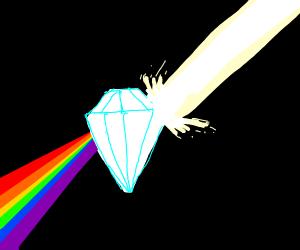 upset diamond has prism like properties