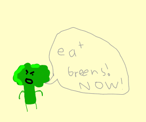 Brocklee wants you to eat your greens