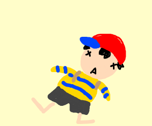 Ness (EarthBound) is dead inside.