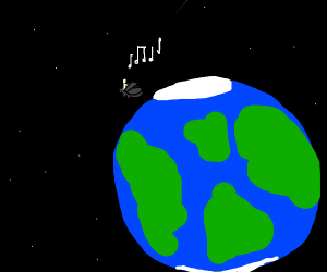 Playing Piano while Orbiting the Planet