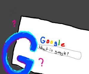 Google using Google to Google what Google is.